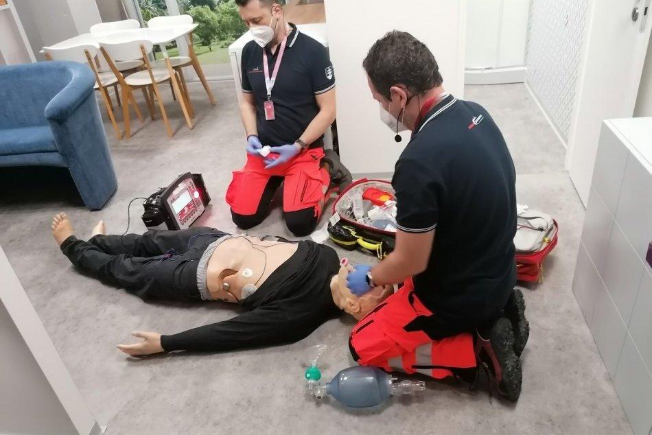 Ilustračný obrázok k článku Košickí záchranári trénujú v najmodernejšom tréningovom centre na Slovensku, FOTO