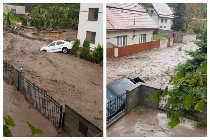 Ilustračný obrázok k článku Pretrhla sa hrádza, Slovenskom sa VALÍ voda! Povodeň má prvú obeť, VIDEO a FOTO