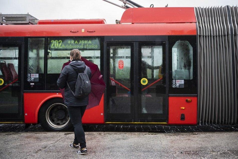 Ilustračný obrázok k článku Pripravte sa na obmedzenia v MHD: TIETO trolejbusy vás neodvezú až na konečnú