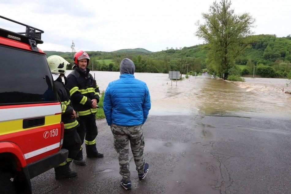 Ilustračný obrázok k článku V okrese Topoľčany hrozila prívalová povodeň: Meteorológovia vydali výstrahu
