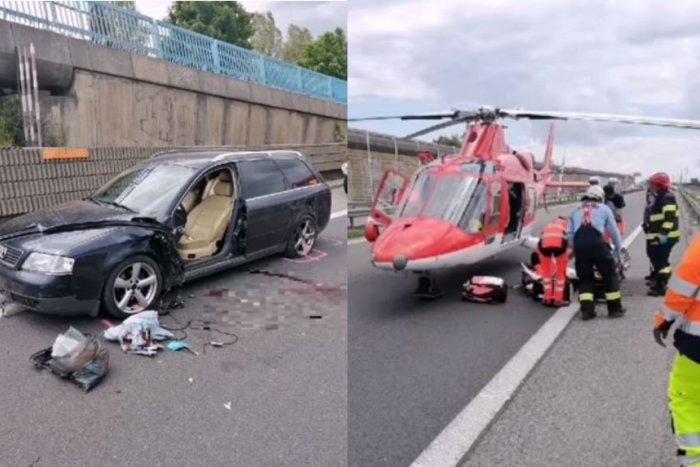Ilustračný obrázok k článku Nešťastie na R1 z Trnavy do Nitry: Vodiča odstaveného auta zachytila dodávka