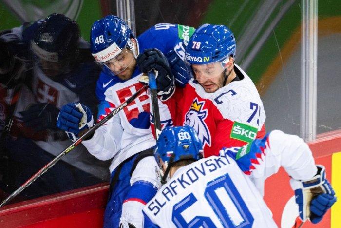 Ilustračný obrázok k článku Slováci ťahali v derby s Českom za kratší koniec: Vo štvrťfinále vyzvú Američanov! FOTO