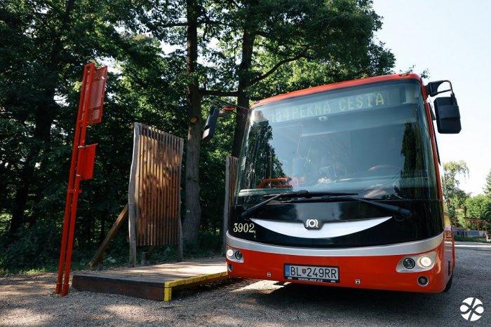 Autobusom bližšie k prírode: Do lesoparku bude premávať ďalšia linka MHD
