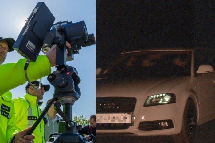 Ilustračný obrázok k článku Nočný úlovok polície medi Šaľou a Trnovcom: Vodič prekročil rýchlosť o 85 km/h!