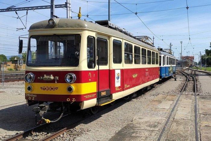 Ilustračný obrázok k článku Trenčianska elektrická železnica je späť! Poznáme DNI jázd aj výšku cestovného