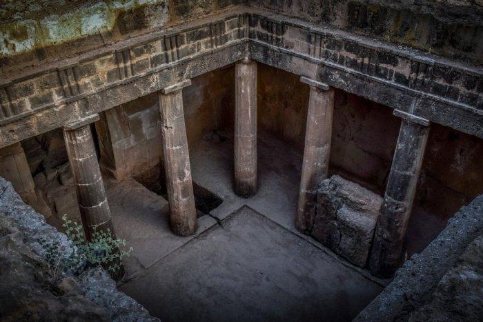 Hrobky kráľov v meste Paphos