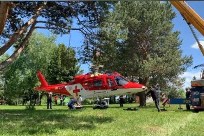 Ilustračný obrázok k článku Nová atrakcia pri popradskom letisku: Nazrieme do autentického záchranárskeho vrtuľníka