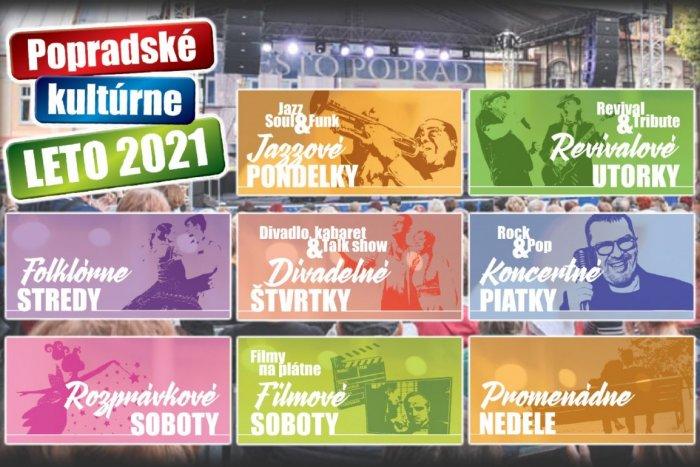 Ilustračný obrázok k článku Popradské kultúrne leto vo veľkom štýle: Príde aj Čírová či Müller, KOMPLETNÝ PROGRAM