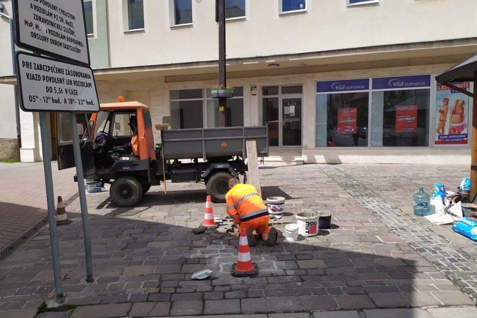Ilustračný obrázok k článku Práce v centre Mikuláša v plnom prúde: Tieto prvky potrebovali opravu ako soľ, FOTO