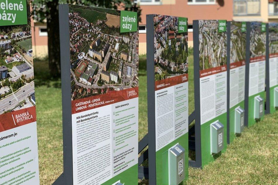 Ilustračný obrázok k článku V 7 častiach Bystrice majú vzniknúť zelené oázy: Čo by ste chceli pod oknami? FOTO