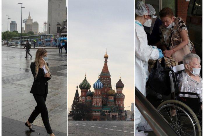 Ilustračný obrázok k článku ČO sa to deje v Rusku? Prudký nárast nakazených, najhoršie je na tom Moskva!