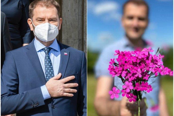 Ilustračný obrázok k článku Matovič vyvolal rozruch na sociálnych sieťach: Môže za to fotka kvetov pre manželku!