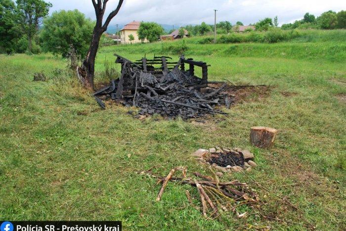 Ilustračný obrázok k článku Turistická útulňa zhorela do tla. Nevylúčili ani úmysel