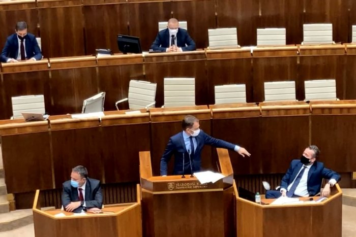 Ilustračný obrázok k článku Parlament ako v krčme: TRTKO, potkan, primitív… doneste mu tabletku!