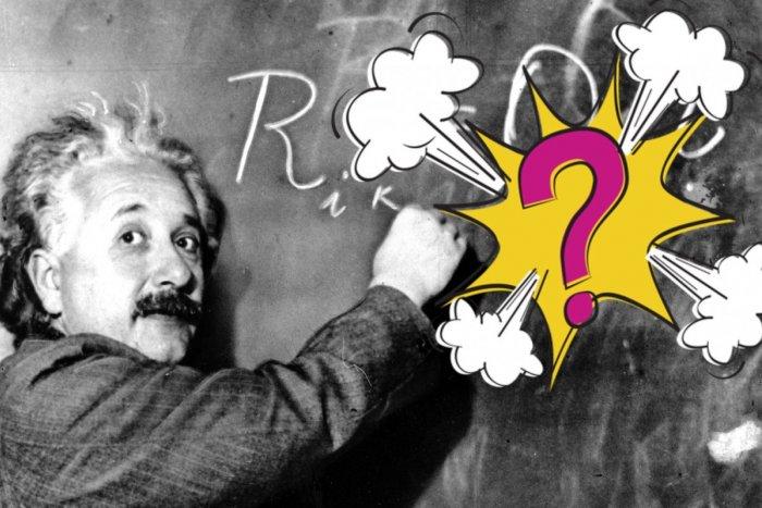 Ilustračný obrázok k článku Táto Einsteinova HÁDANKA vás poriadne potrápi: Dokážete prísť na riešenie?