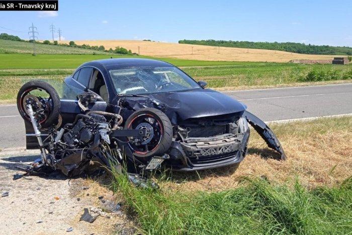 Ilustračný obrázok k článku Ďalšia tragédia motorkára: Pre 46-ročného muža sa stala osudným zrážka s autom
