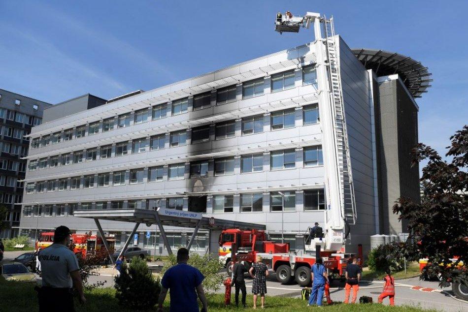 Ilustračný obrázok k článku Požiar v košickej nemocnici spôsobil obrovské škody: Suma presiahne 300-tisíc eur!