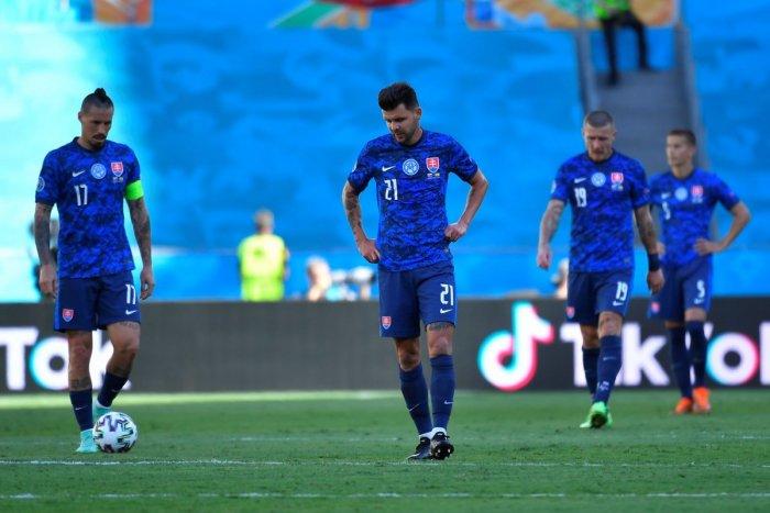 Ilustračný obrázok k článku HANEBNÝ koniec Slovenska na EURO 2020: Po debakli 0:5 so Španielskom balíme kufre! FOTO