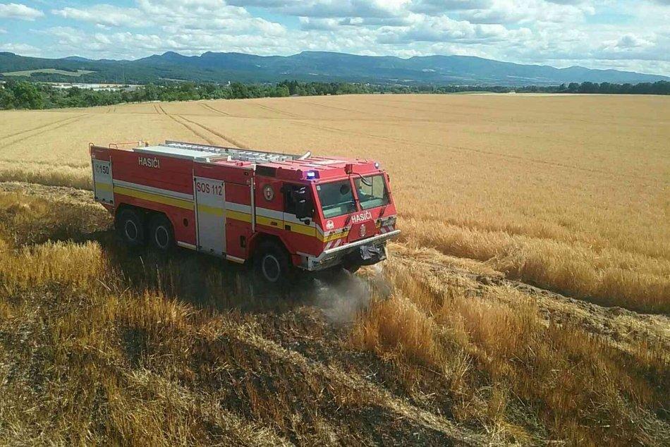Ilustračný obrázok k článku Veľké škody na družstve v Malinovej: Požiar obilia už v rukách polície, FOTO
