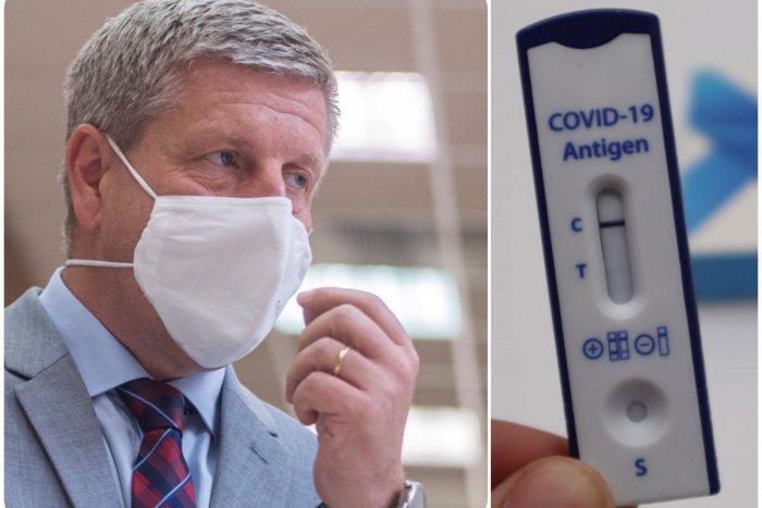 Ilustračný obrázok k článku Lengvarský to povedal na rovinu: Antigénové testy už nebudú NIKDY zadarmo!