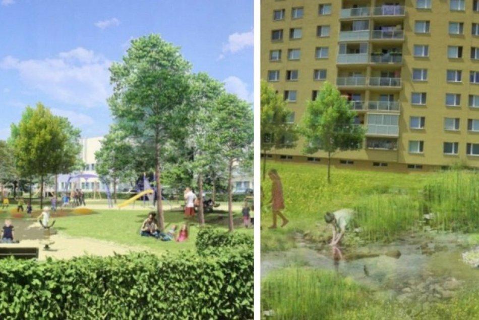 Ilustračný obrázok k článku V Trnave vznikne lákavá zóna: Pribudne UMELÝ POTOK aj atraktívne hracie prvky, FOTO