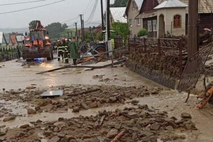 Ilustračný obrázok k článku Jedna z búrok ukázala svoju tvár: Obec Lenartov zaliala voda z lesa! VIDEO
