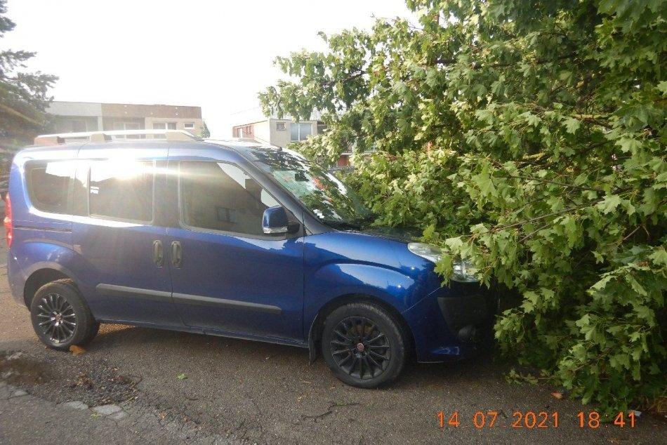 Ilustračný obrázok k článku Škody po búrke v Trenčianskom kraji: Popadané stromy i stĺpy, odtrhnutá strecha, FOTO