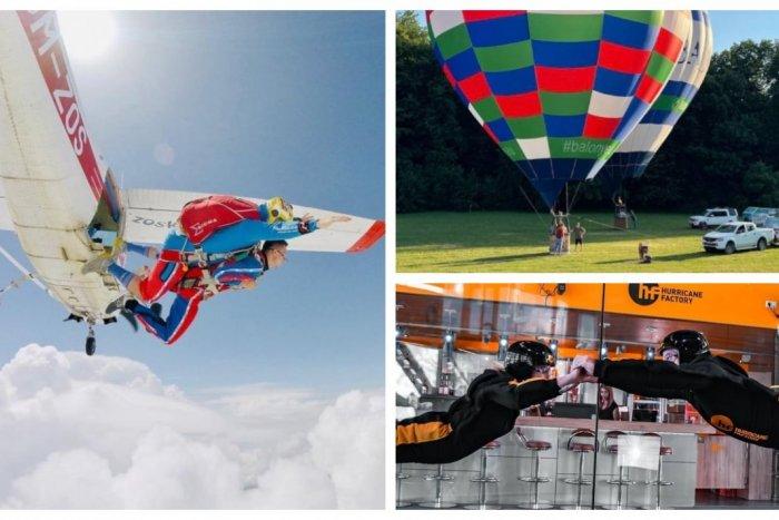 Ilustračný obrázok k článku TOP 12 adrenalínových atrakcií v Poprade a okolí: Na niektoré vám stačí len pár eur