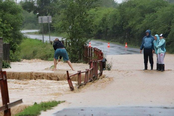 Ilustračný obrázok k článku Pre okres Rožňava vydali TRETÍ stupeň výstrahy pred prívalovou povodňou