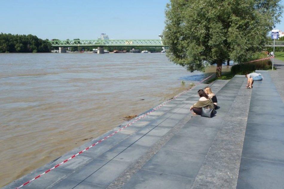Ilustračný obrázok k článku FOTO: Hladina Dunaja STÚPA. Vodohospodári vysvetľujú, či je dôvod na PANIKU