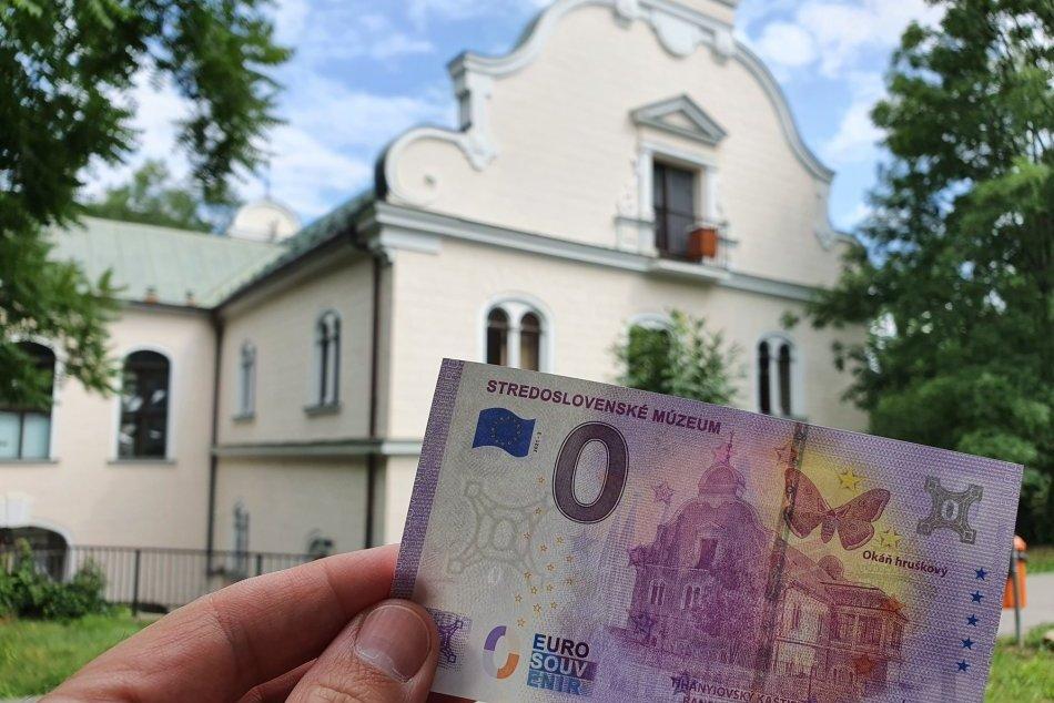 Ilustračný obrázok k článku Tihányiovský kaštieľ sa objavil na unikátnej bankovke: TAKTO sa dá získať, FOTO