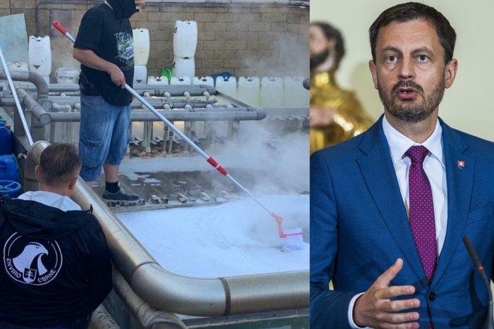 Ilustračný obrázok k článku RÁDIOAKTÍVNA voda a falšovanie údajov? Premiér reaguje na kauzu známeho kúpaliska!