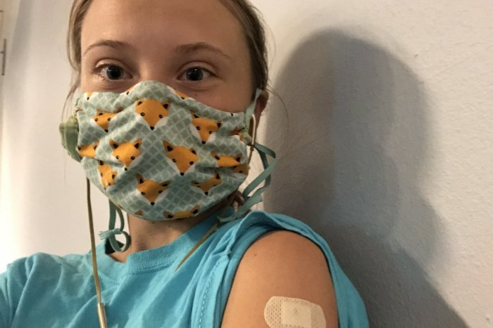 Ilustračný obrázok k článku Greta Thunbergová po prvej dávke vakcíny: Som mimoriadne vďačná za toto privilégium