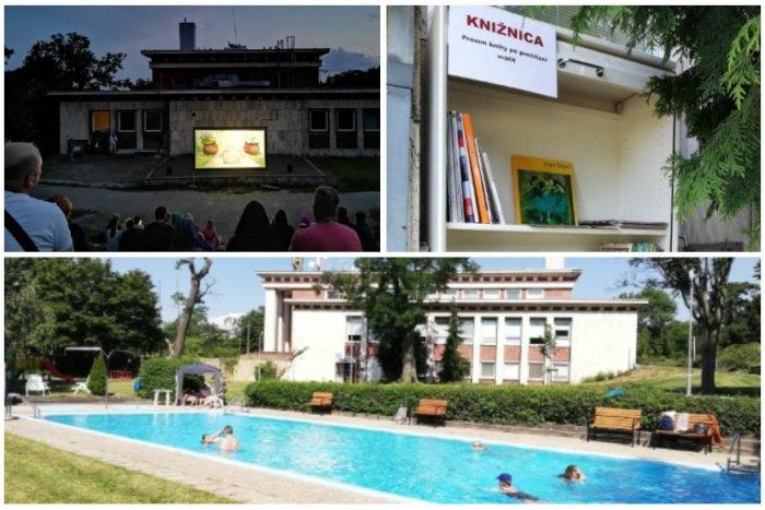 Ilustračný obrázok k článku Cez deň bazén, večer kino! Užite si netradičnú ROMANTIKU na legendárnom Mičuríne