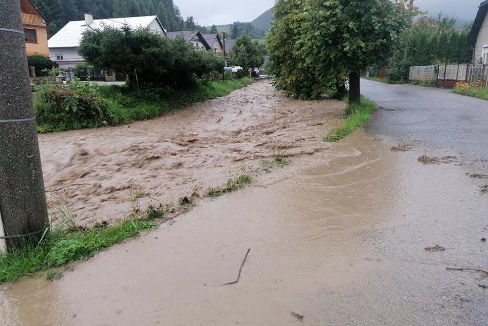 Ilustračný obrázok k článku Po týždni majú vo Valaskej Belej opäť POVODEŇ: Obec zaplavilo za 20 minút! FOTO