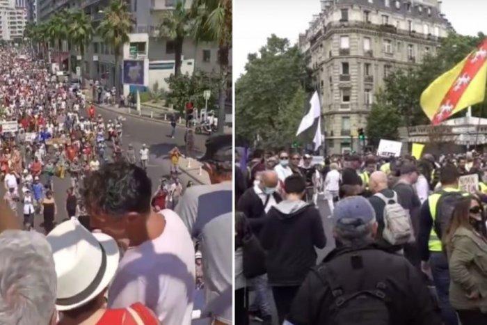 Ilustračný obrázok k článku Francúzsky odpor na VIDEU: V jeden deň 180 protestov a 200-tisíc ľudí v uliciach!