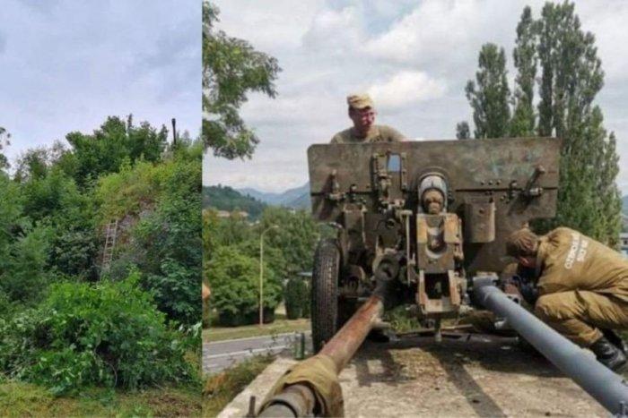Ilustračný obrázok k článku Krásny čin dobrovoľníkov: TAKTO zrenovovali pamätník SNP pri Ružomberku, FOTO