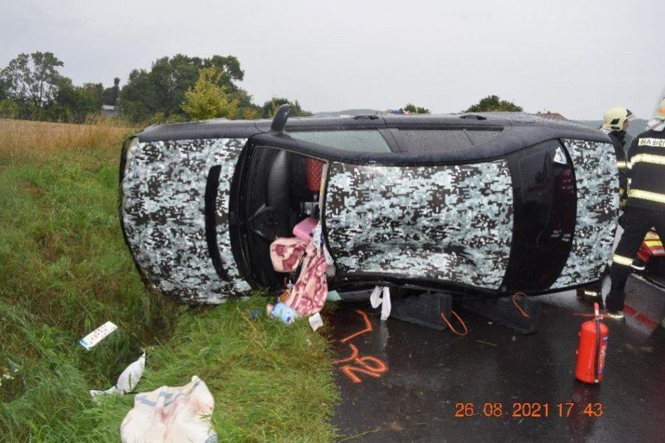 Ilustračný obrázok k článku Tragická nehoda na juhu Banskobystrického kraja: Dieťa prežilo, matka nie, FOTO