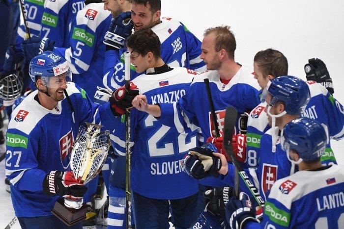 Ilustračný obrázok k článku Slovenskí hokejisti zvíťazili nad Bieloruskom 2:1, postúpili na olympiádu do Pekingu
