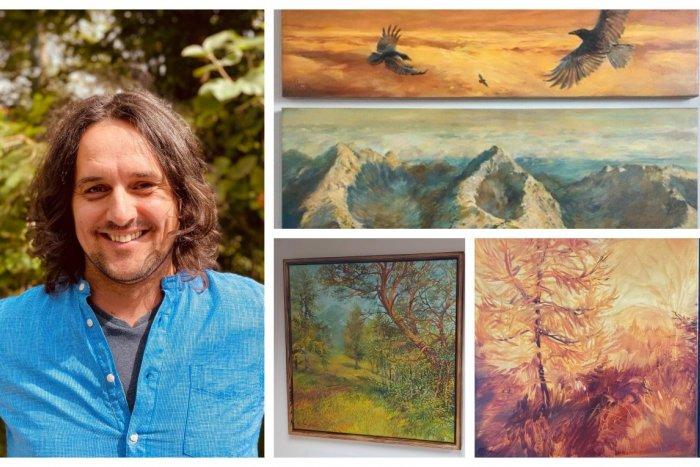 Ilustračný obrázok k článku Umelca z Kremnice očarili Tatry. Tamásfi: Ide o príbehy, ktoré sú ukryté za obrazmi