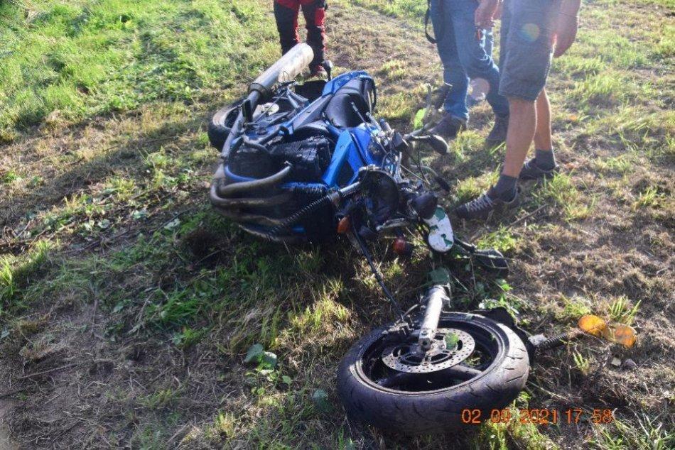 Ilustračný obrázok k článku Tragická nehoda motocykla medzi Sliačom a Kováčovou: Žiak autoškoly na mieste zomrel, FOTO