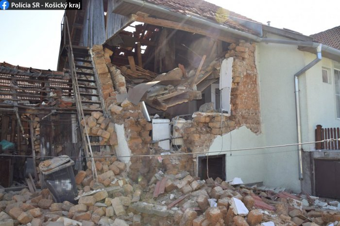 Ilustračný obrázok k článku Chvíle hrôzy pri Rožňave: Výbuch plynu v rodinnom dome, hlásia zranených