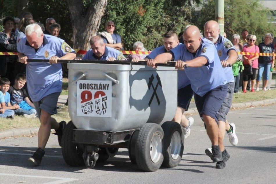 Ilustračný obrázok k článku Tím zo Šale ovládol súťaž v Oroszlány: Za tlačenie 450-kilového vozíka získal ZLATO!