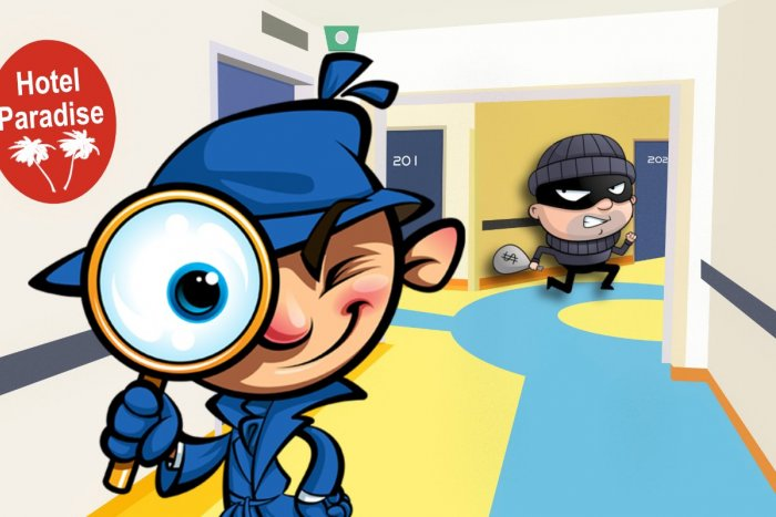 Ilustračný obrázok k článku Podarí sa vám odhaliť hotelového zlodeja? Skvelá HÁDANKA, ktorá vám dá zabrať