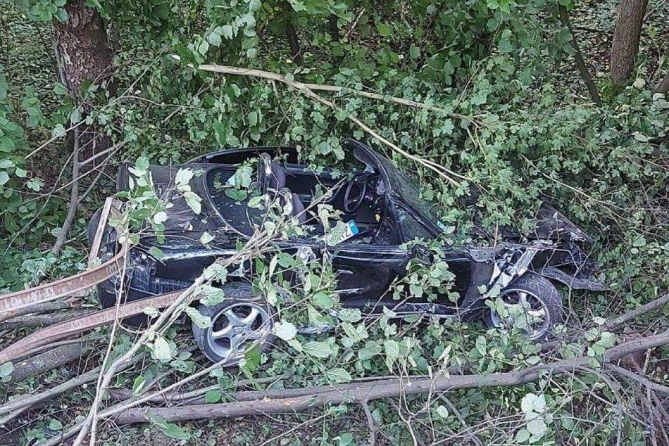 Ilustračný obrázok k článku Hrozivá nehoda na hranici okresov Zvolen a Banská Bystrica: Auto skončilo v priekope, FOTO
