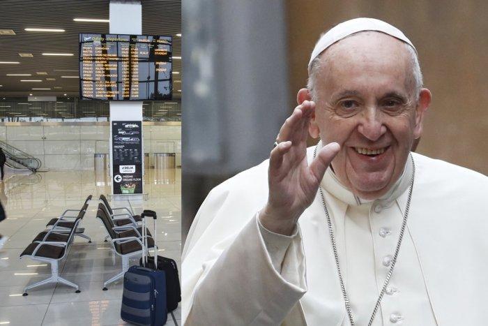 Ilustračný obrázok k článku Plánujete let z bratislavského letiska? Návšteva pápeža prinesie viaceré OBMEDZENIA