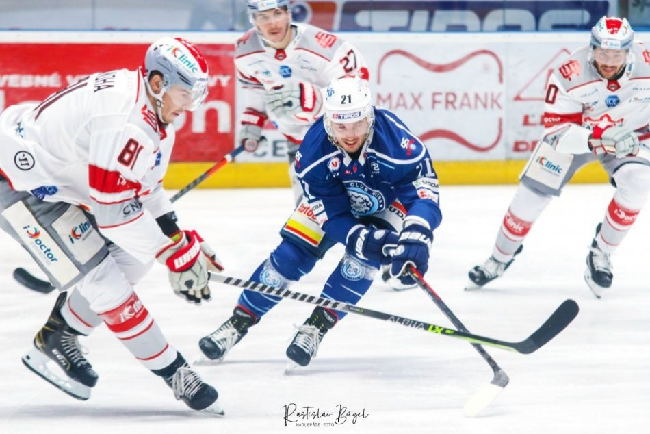 Ilustračný obrázok k článku Hokejisti Nitry s víťazstvom: Dvoma gólmi porazili Bratislava Capitals, FOTO