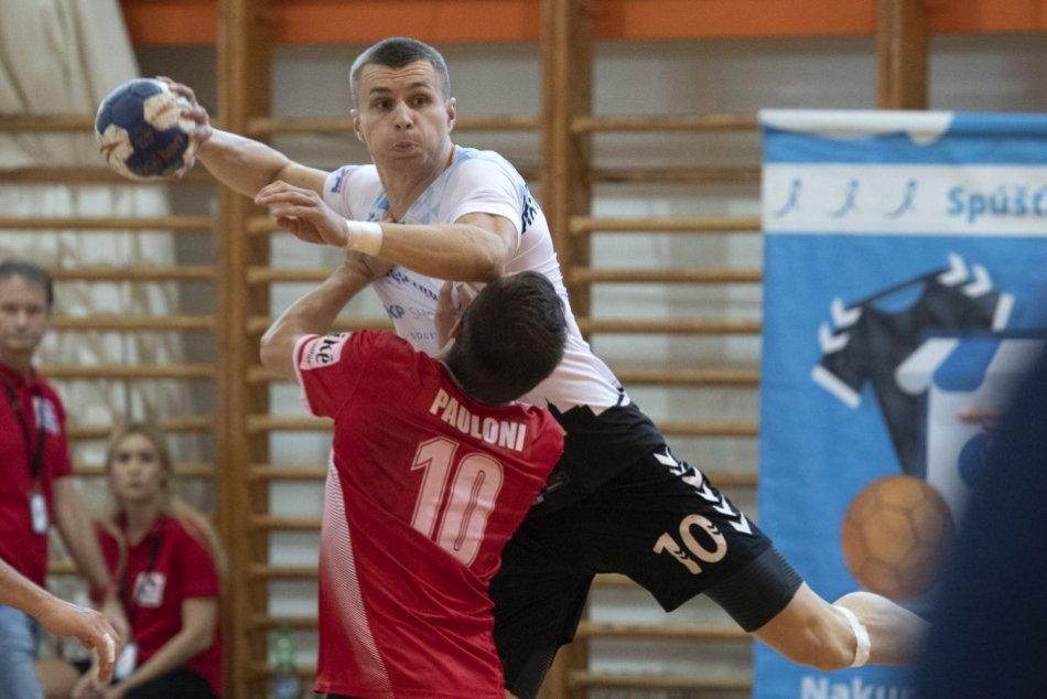 Ilustračný obrázok k článku Hádzanári nezvládli vstup do novej sezóny: V dohrávke nestačili na ŠKP Bratislava