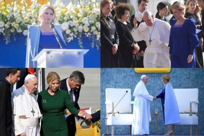 Ilustračný obrázok k článku Prezidentka ukryla posolstvo do šiat a šperku: Čo nimi odkazuje národu a pápežovi?