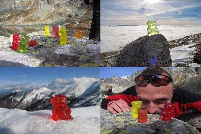 Ilustračný obrázok k článku Martin má netradičných kamošov na túry: Gumenými medvedíkmi baví doma i v zahraničí!
